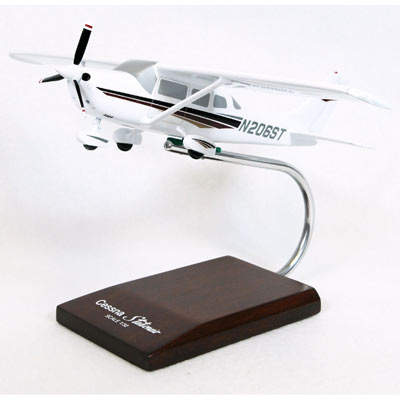 Cessna 206 Stationair (1:32), TMC Pacific Desktop Airplane Models Item Number KC206TR