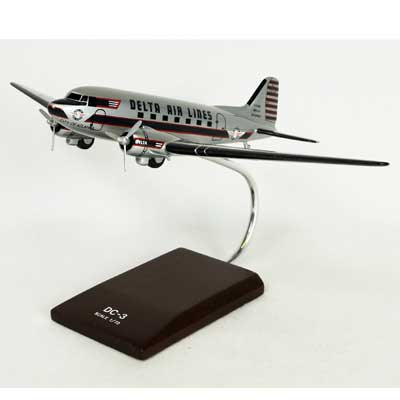 DC-3 Delta (1:72), TMC Pacific Desktop Airplane Models Item Number KDC3DAT