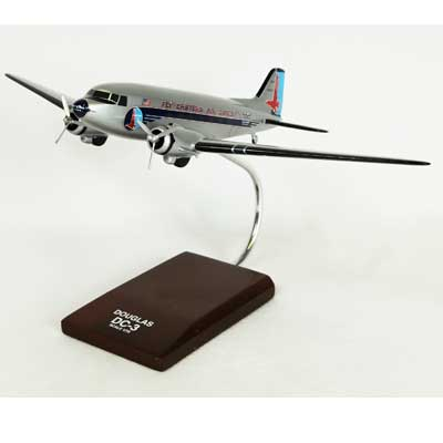 DC-3 Eastern (1:72), TMC Pacific Desktop Airplane Models Item Number KDC3EAT