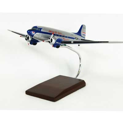 DC-3 United (1:72), TMC Pacific Desktop Airplane Models Item Number KDC3UAT