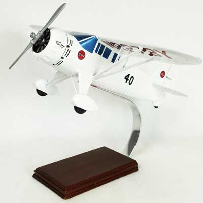 Mr. Mulligan DGA6 Racing Plane (1:20), TMC Pacific Desktop Airplane Models Item Number KDGA6TE