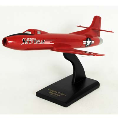 D-558-2 Skyrocket (1:32), TMC Pacific Desktop Airplane Models Item Number KS5582T