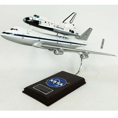 B747 with Shuttle (1:144), TMC Pacific Desktop Airplane Models Item Number KYN747PBTS
