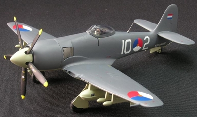 Hawker Sea Fury FB11 860 Squadron Dutch Navy(1:72), Witty Wings Diecast Fighters Item Number WTY72015-005