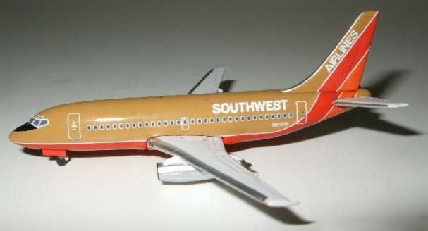 "Southwest 737-200 ""Old Colors"" (1:500)"