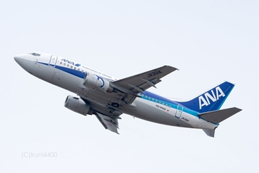 ANA Wings B737-500 JA301K (1:200) by JC Wings Diecast Airliners Item: EW2735001