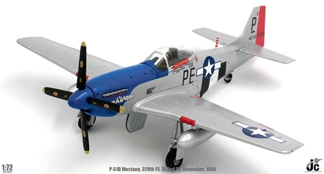 P-51D Mustang, USAAF 352nd FG, 328th FS, #44-14906 Cripes A Mighty , George Preddy, Asche Airfield, Belgium, December 25th 1944 (1:72), JC Wings Millitary Item Number JCW-72-P51-001