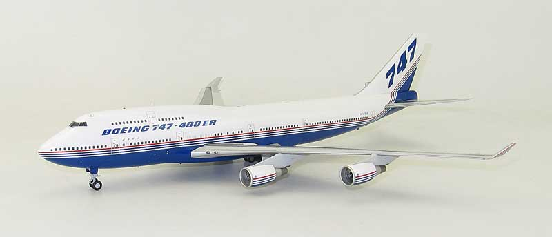 "Boeing B747-400ER N747ER?""House?Color"" (1:200) - Special Clearance Pricing"