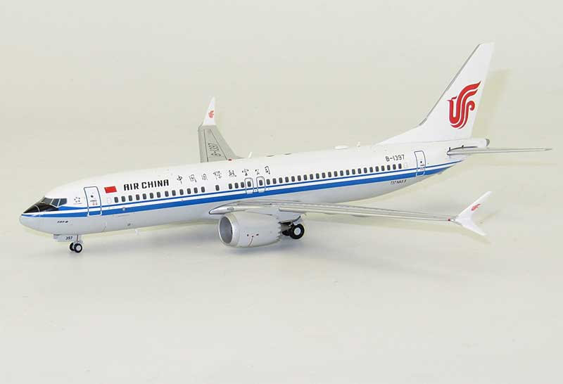 Air China B737-8Max B-1397 (1:200) - Special Clearance Pricing