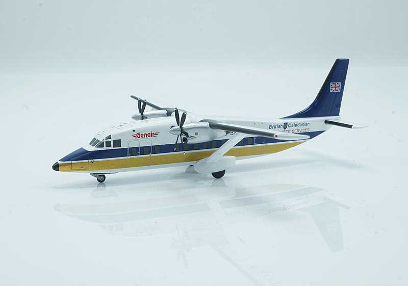 "British Caledonian Short 360-100 ""Small Flag"" G-BKKT (1:200) - Special Clearance Pricing"