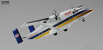 British Caledonian Short 330 G-NICE (1:200) - Special Clearance Pricing