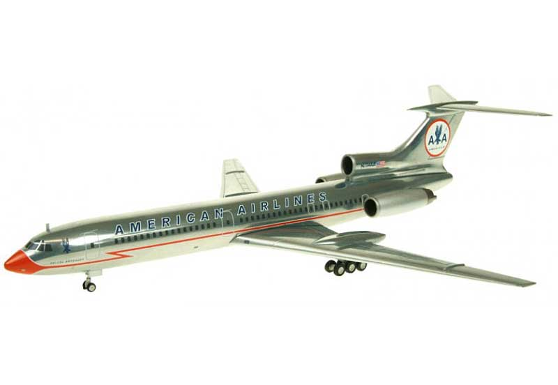 "American TU-154M N154AA ""Lighting Bolt Livery"" (1:200) - Special Clearance Pricing"
