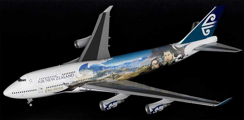 Air New Zealand B747-400 ZK-SUJ (1:200) - Special Clearance Pricing