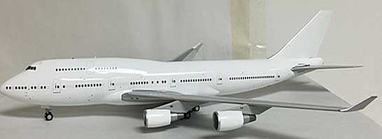 Blank B747-400 GE  Engines(1:200) - Special Clearance Pricing