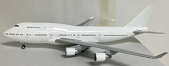 Blank B747-400 P&W Engines (1:200) - Special Clearance Pricing