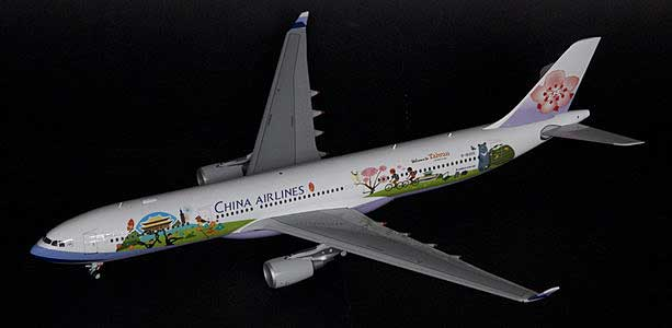 "China ""Welcome to Taiwan"" A330-300 (1:200) - Special Clearance Pricing"