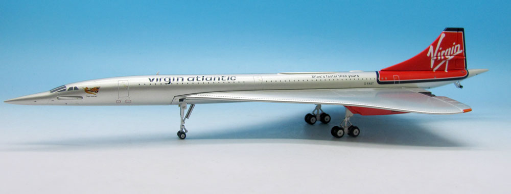 "Virgin Atlantic Concorde F-FAST ""Mines Faster Than Yours"" (1:200)"