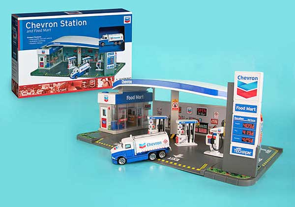 Chevron Gas Station, Chevron Item Number RT187215