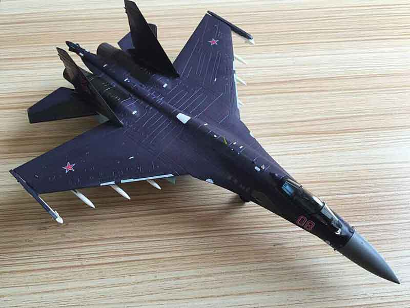 Sukhoi Su-35, Russian Air Force (1:72)  NEW TOOL!, Air Force 1 Diecast Item Number AF1-0116B