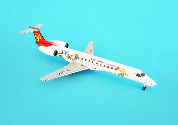 "Grand China Express Erj-145 ""Carton"" (1:200), Aviation200 Diecast Airlines Item Number AV2145002"