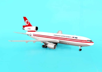 Malaysian Airline System DC-10-30 ~9M-MAS (1:200), Aviation200 Diecast Airlines Item Number AV2DC10406