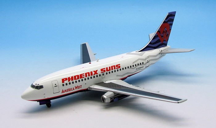 "America West 737-100 ""Phoenix Suns"" ~N708AW (1:200), InFlight 200 Scale Diecast Airliners Item Number IF7311113"