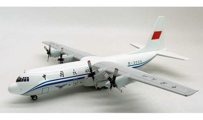 Air China L-100-30 Hercules (L-382G) B-3004 (1:200), InFlight 200 Scale Diecast Airliners Item Number IFC1300414B