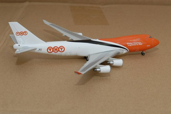 TNT 747-400 ~ OO-THA (1:400), Jet X 1:400 Diecast Airliners Item Number JET428