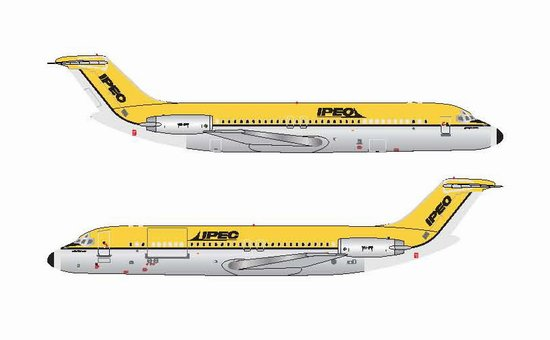IPEC - Independent Air Freighter of Australia DC-9-30 - VH-IPF (1:400), Jet X 1:400 Diecast Airliners, Item Number JET602A