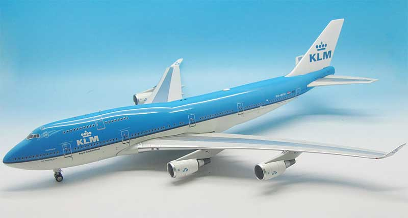 "KLM 747-400M Combi ""City of Vancouver"" PH-BFV (1:200), Jet X 1:200 Scale Diecast Item Number JETVL15001"