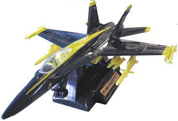 F/A-18 Hornet, Blue Angels, 1:72 Scale, Motormax Diecast Item Number DP-F18BLUE