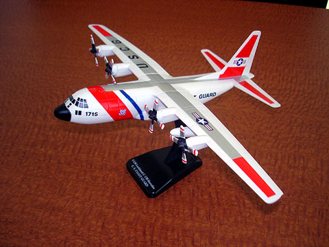 US Coast Guard C-130 (1:110), New Ray Diecast Item Number NR20613