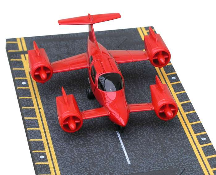 "Moller Air Car (Approx. 5""), Hot Wings Toy Airplanes Item Number HW12114"