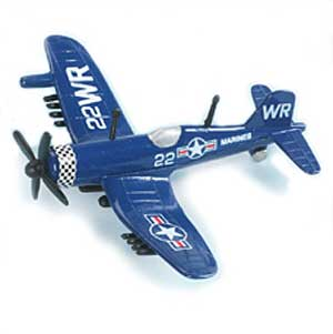"F4U Corsair (Approx. 5""), Hot Wings Toy Airplanes Item Number HW17104"