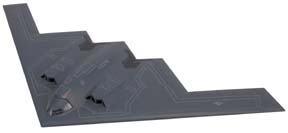 B-2 Spirit Stealth Bomber (1:200) by Motormax Diecast