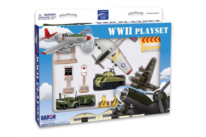 Boeing WWII Playset by Realtoy Diecast Toys item number: RT1941