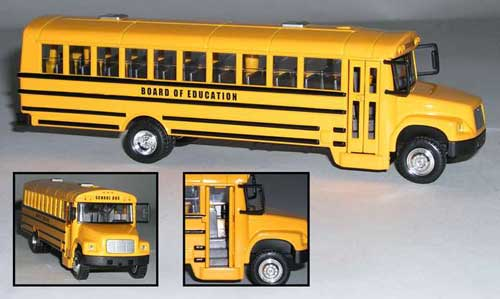 Action City School Bus, Realtoy Diecast Toys Item Number RT38337