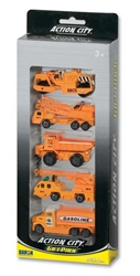 5 Piece Construction Vehicle Gift Pack, Realtoy Diecast Toys Item Number RT38814