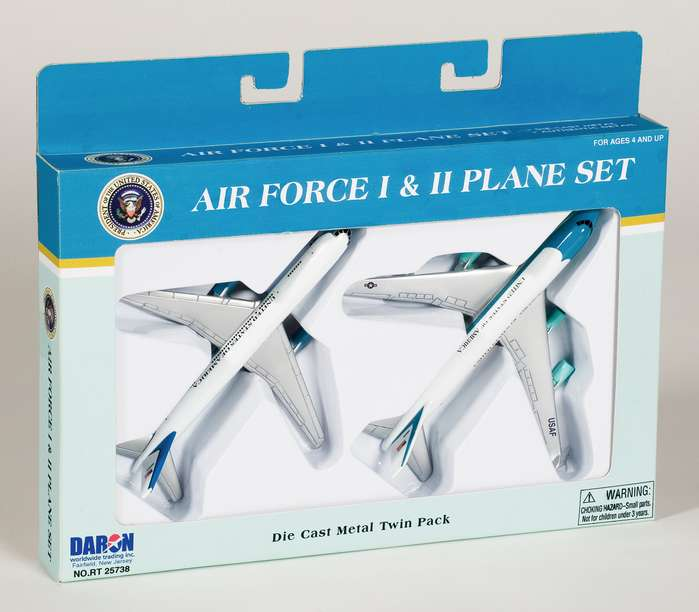 Realtoy Diecast Toys Air Force One Air Force 2 2 Plane Set 5