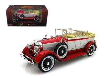 1928 Lincoln Dietrich Limousine Red (1:32)