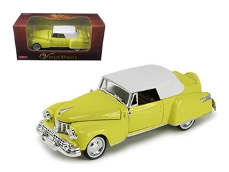 1948 Lincoln Continental Yellow (1:32)