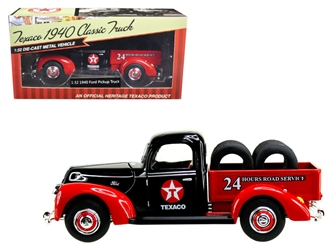 "1940 Ford Pickup Truck ""Texaco"" with Tires 1/32 Diecast Model Car by Beyond Infinity"