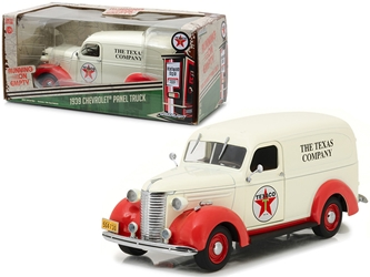 "1939 Chevrolet Panel Truck Texaco ""Running on Empty"" Series 1/24 Diecast Model Car by Greenlight"