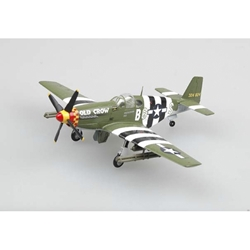 "P-51B Mustang, Capt. Clarence ""Bud"" Anderson, 1944 (1:72), EasyModel Aircraft Models Item Number EM36358"