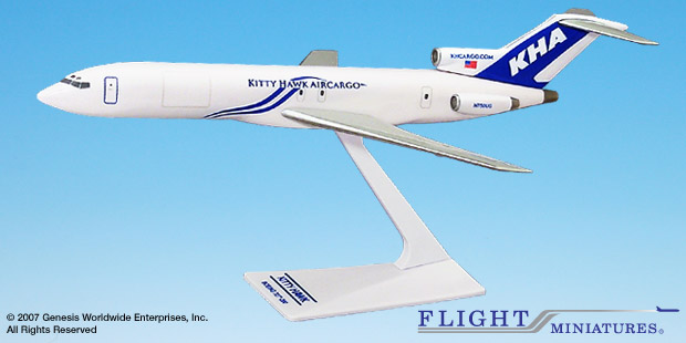 Kitty Hawk (03-Cur) 727-200 (1:200), Flight Miniatures Snap-Fit Airliners, Item Number BO-72720H-039