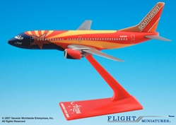"Southwest 737-300 ""Arizona"" (1:200), Flight Miniatures Snap-Fit Airliners, Item Number BO-73730H-402"