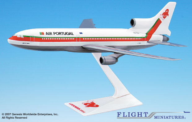 TAP Air Portugal (79-05) L-1011 (1:250), Flight Miniatures Snap-Fit Airliners, Item Number LK-10110I-015