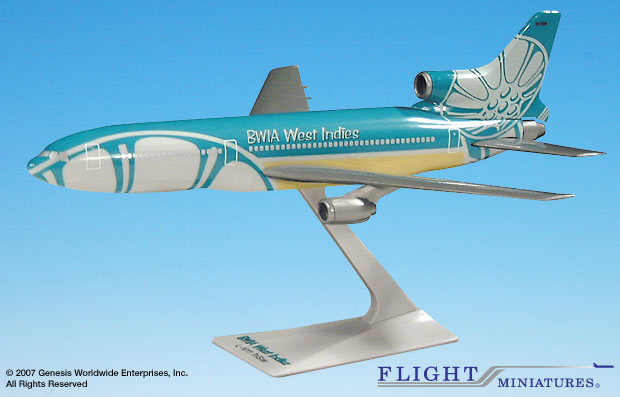 BWIA West Indies L-1011 (1:250)
