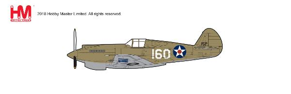 P-40B Warhawk Die Cast Model, New Tooling! 2nd Lt. George Welch, 47th PS, 15th PG, Oahu, 1941 (1:48) - Preorder item, order now for future delivery , Hobby Master Diecast Airplanes, Item Number HA9201