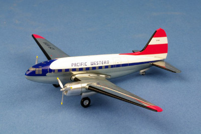 Pacific Western C-46 Commando CF-HYI 1:200 Scale